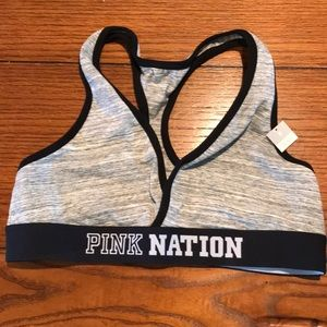 PINK Nation unlined crop